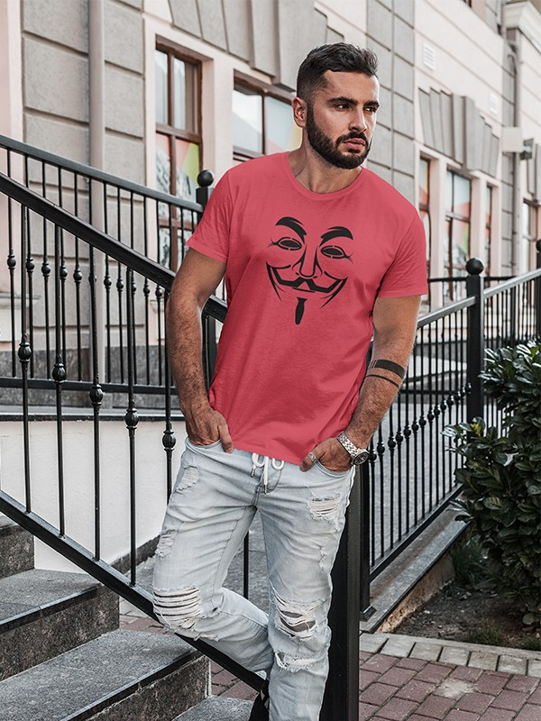 JOKER RED Printed T-Shirt