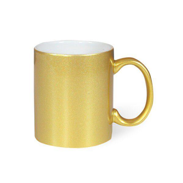 Sublimation Blank Golden Mug