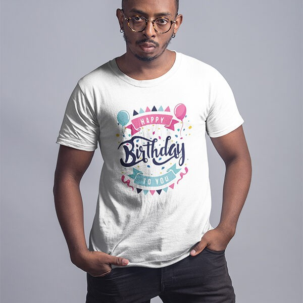 """Birthday Occasional Printed T-Shirts - """"Happy Birthday To You"""""""