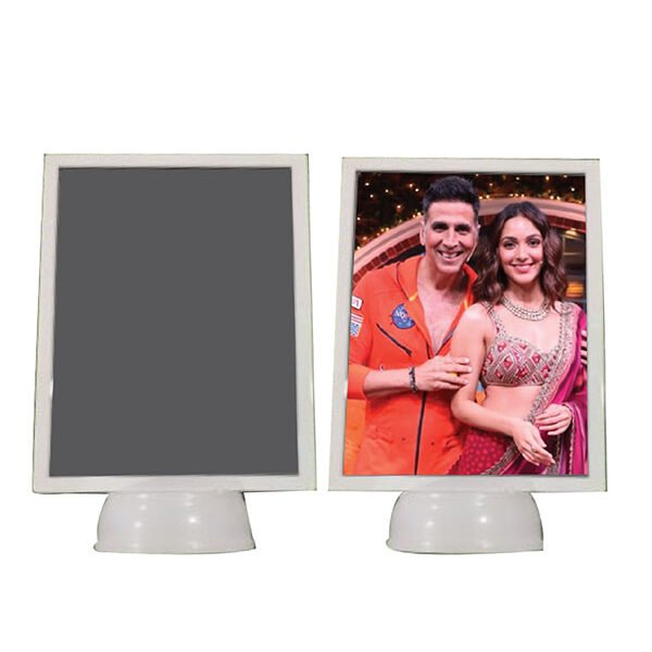 3d rectangle mirror photo frame