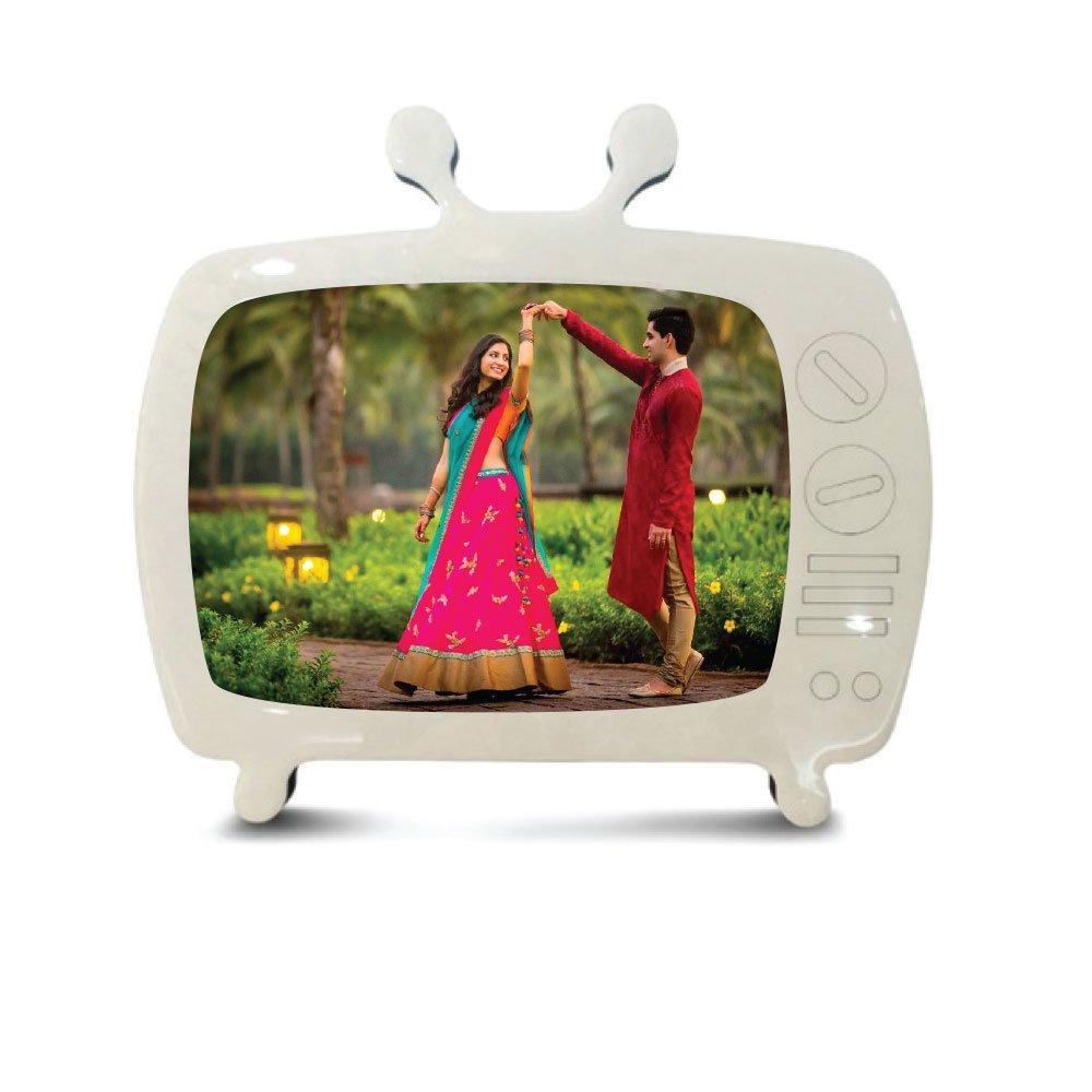 old tv photo frame