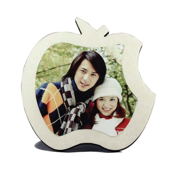 ( Pack of 2 ) blank sublimation Apple photo frame