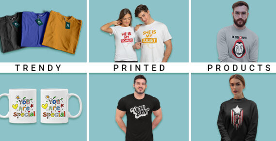 Trendy Printed products